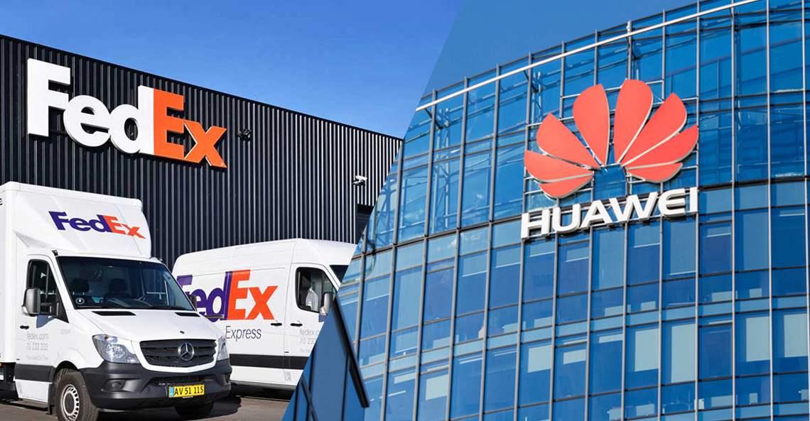 FedEx перенаправила посылки от компании в США